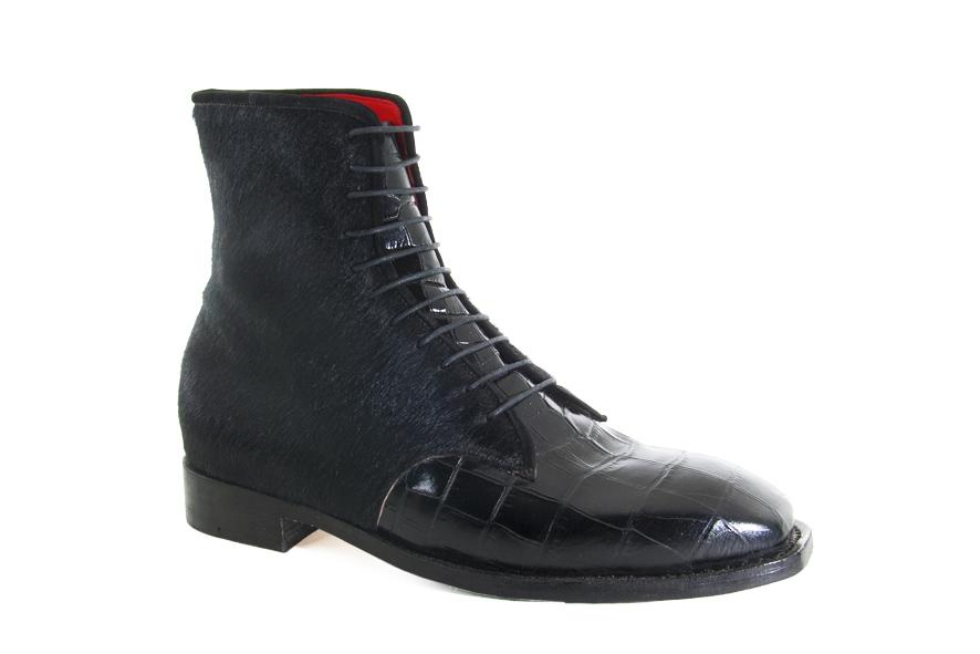 hand made, hand stitched leather man ankle boot, handgemachte fell knöchel schue mitt fell, kézzel készített varrott bőr bokacipő